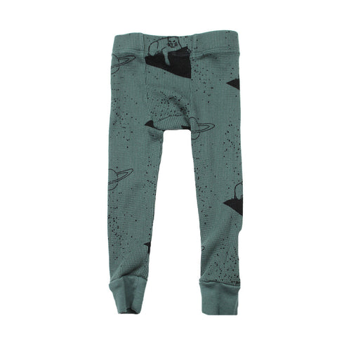 Lion Print Thermal Pant- Forrest - Ice Cream Castles