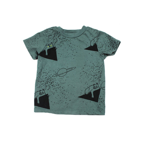Lion Print Tee- Forrest - Ice Cream Castles