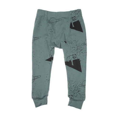 Lion Print Leggings- Forrest - Ice Cream Castles