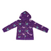 Papillon Zip Hoodie in Grape - Ice Cream Castles Kids
