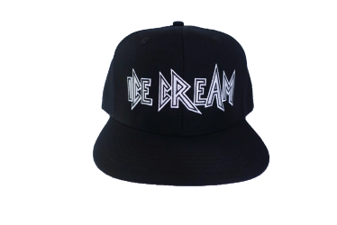 Ice Cream Graphic Snap Back Hat - Ice Cream Castles
