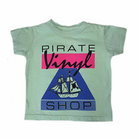 Pirates Vinyl Shop Tee - Ice Cream Castles