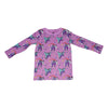 Unicorn Papillon Long Sleeve Tee in Orchid - Ice Cream Castles Kids