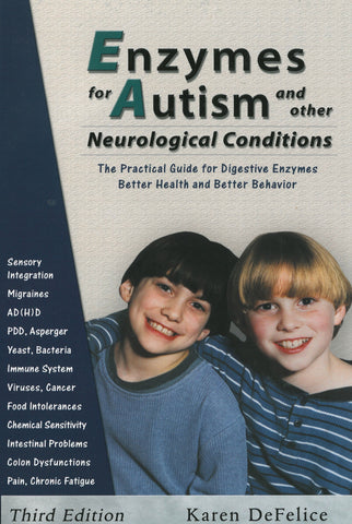 Enzymes for Autism - DeFelice - Enzyme Science UK