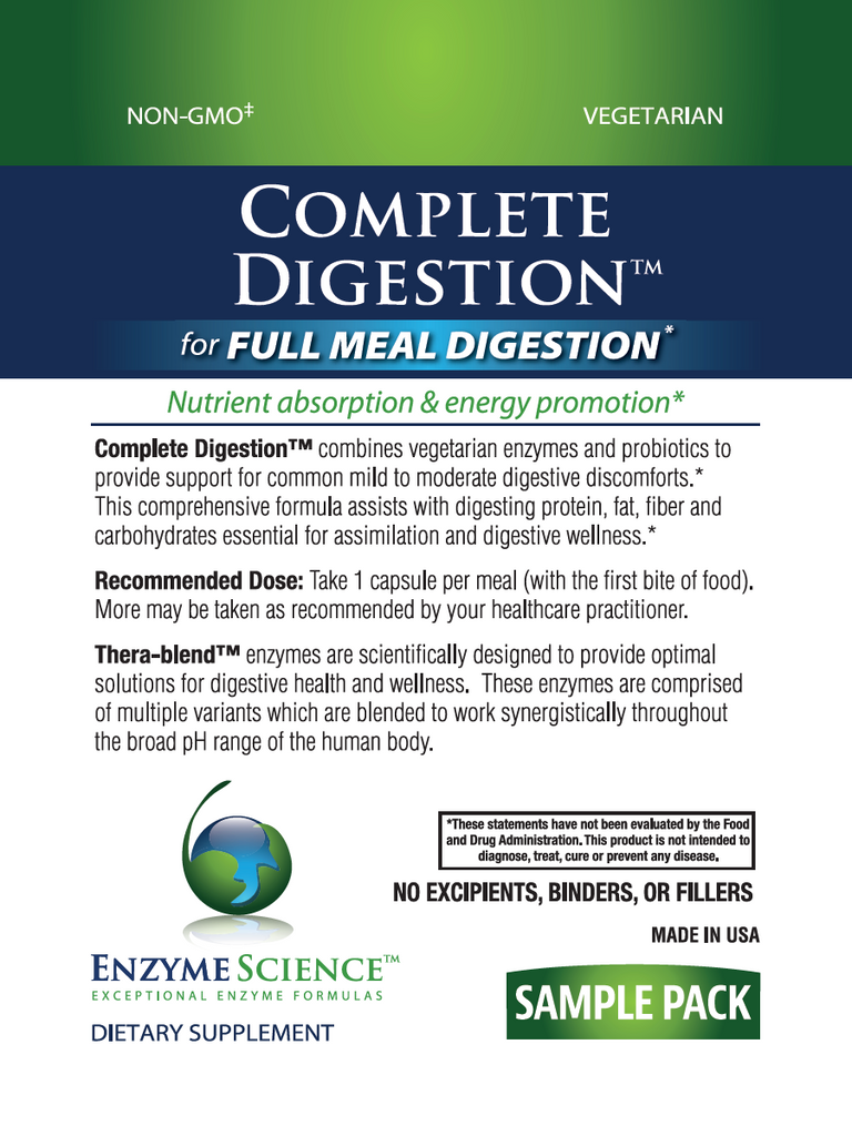 Complete Digestion Sample
