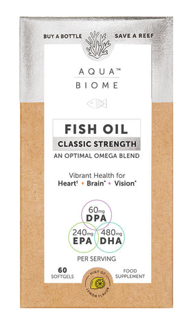 Aqua Biome Fish Oil Classic Strength