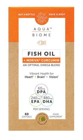 Aqua Biome Fish Oil Meriva Curcumin