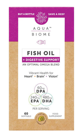 Aqua Biome Fish Oil Digestive Support