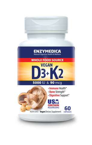 Vegan Vitamin D3 + K2