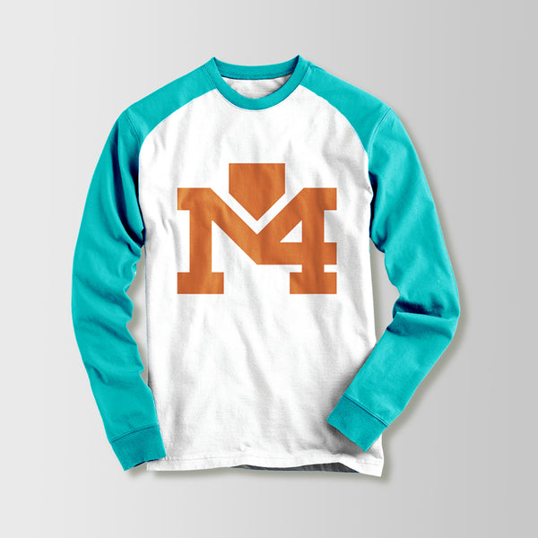 Orange Logo Sweater