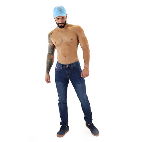Dark Blue Slim Fit Jean 1026