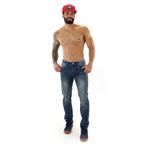 Faded Slim Fit Jean
