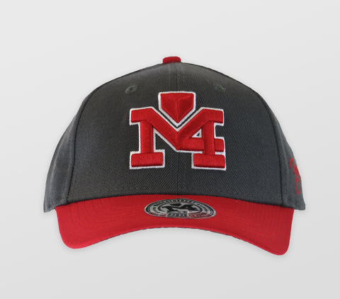 Gray/ Red M4 Logo Cap 1364