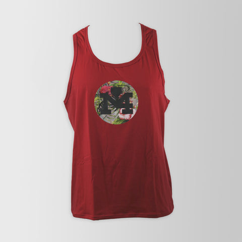 Floral Red Tank