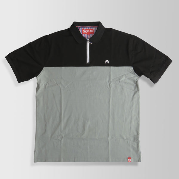 Black & Gray Polo Shirt