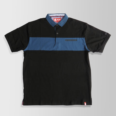 Black & Blue Polo Shirt