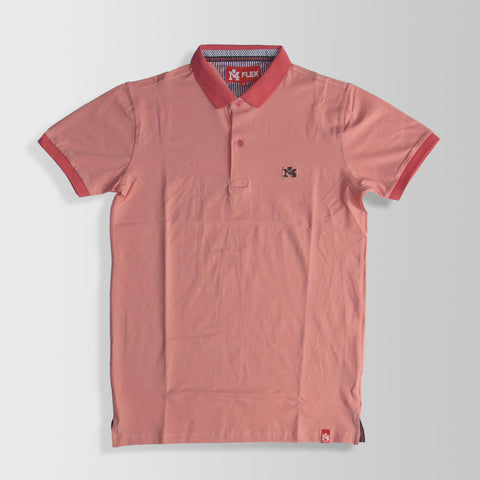 Salmon Polo Shirt