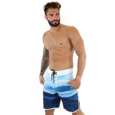 M4 Swim blue trunk 1069