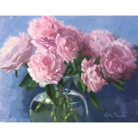 Study for Pink Peonies