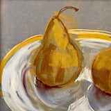 Two Pears on a Plate 1