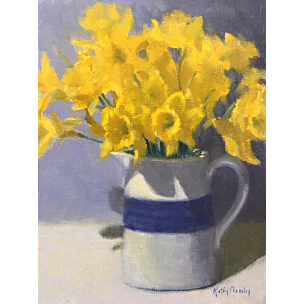 Study for Pitcher of Daffodils