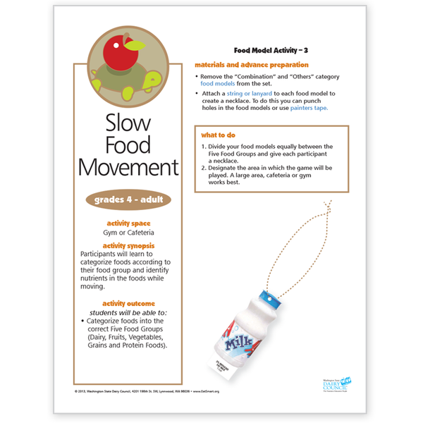 Food Model Activity 3-Slow Food Movement-Free Download