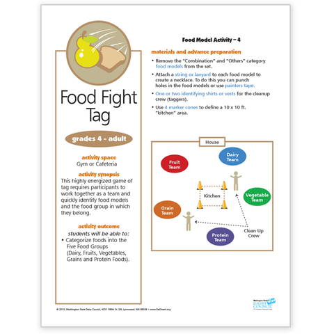 Food Model Activity 4-Food Fight Tag-Free Download