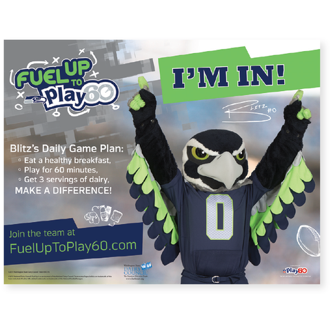 Blitz Fuel Up to Play 60 Poster