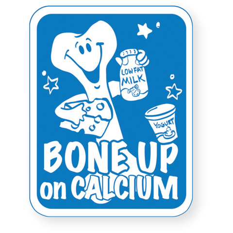 Bone Up on Calcium Magnet