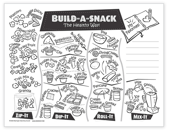 Build-a-Snack Master for Students