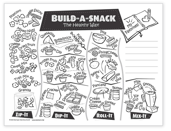 Build-a-Snack Master for Parents