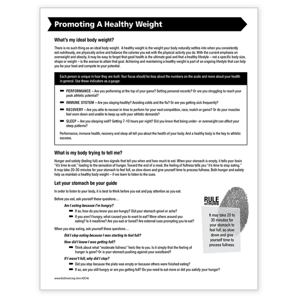Eating for Peak Performance-Free Download