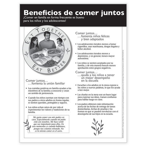 Beneficious de comer juntos-Free Download