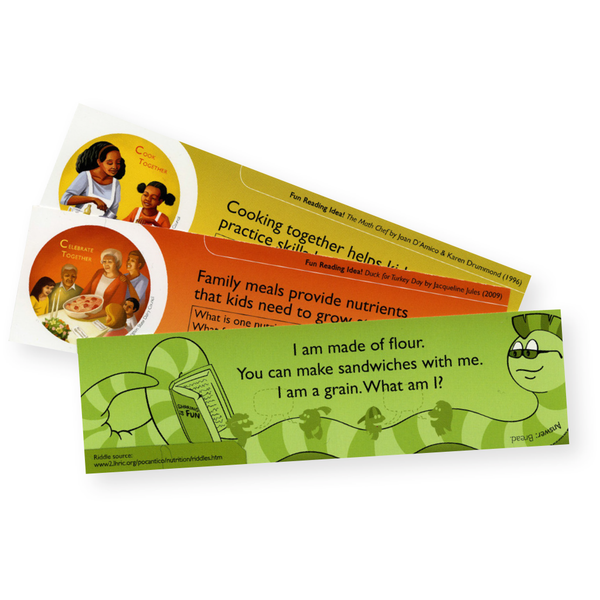 Eat Together, Eat Better Bookmarks