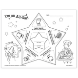 Five Food Group Sticker Activity Masters