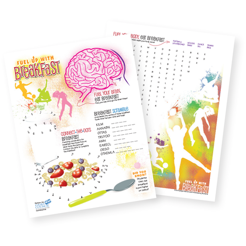 Fuel Up with Breakfast Activity Sheet