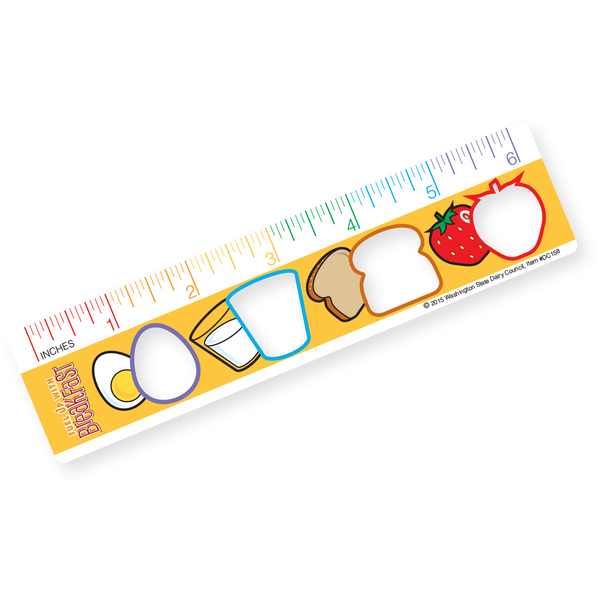 Fuel Up with Breakfast Ruler