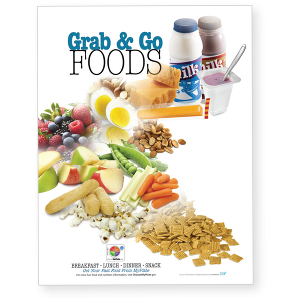 Grab and Go Foods Poster