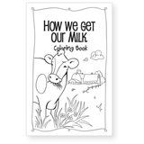 How We Get Our Milk Coloring Book-Free Download
