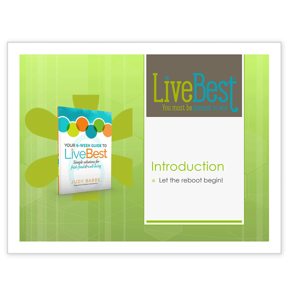 LiveBest 6-week Healthy Eating Program-Introduction
