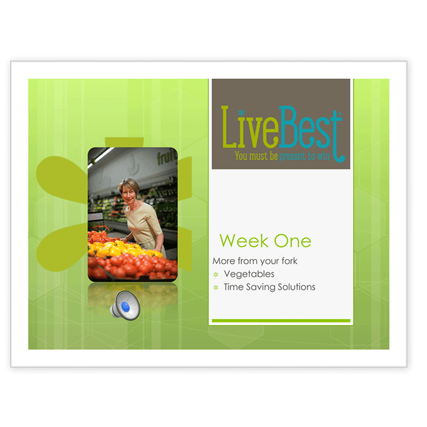 LiveBest 6-week Healthy Eating Program-Week One