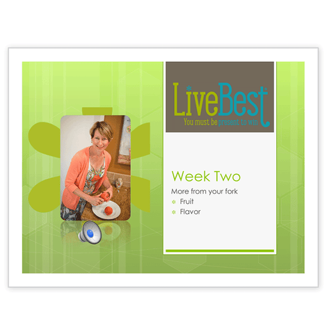LiveBest 6-week Healthy Eating Program-Week Two-Free Download
