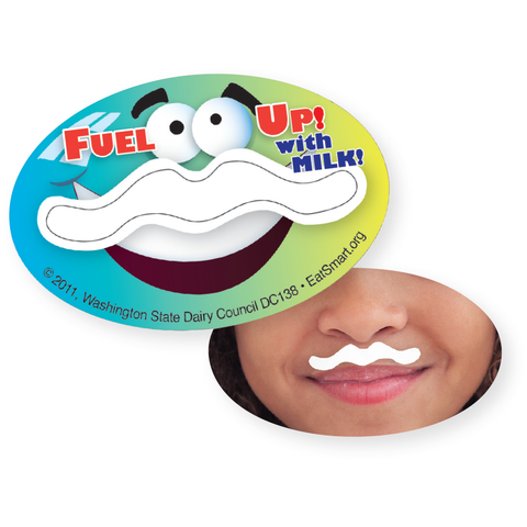 Moostache Stickers