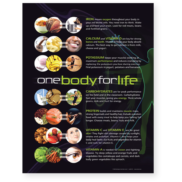 One Body For Life Poster