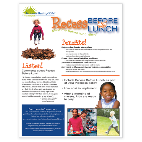 Recess Before Lunch-Free Download