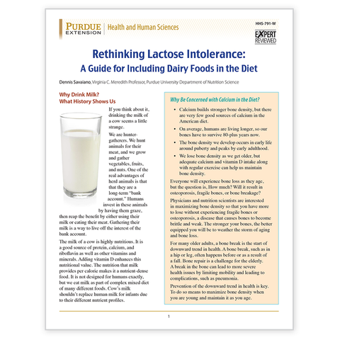 Rethinking Lactose Intolerance-Free Download