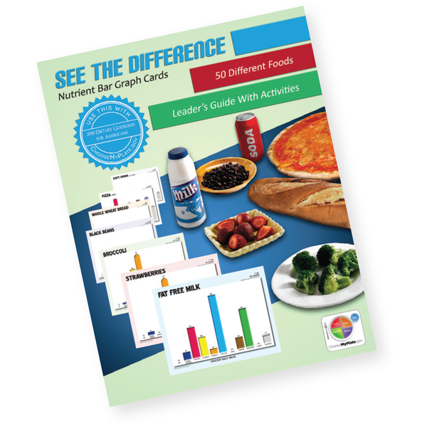 See the Difference Nutrient Bar Graph Cards