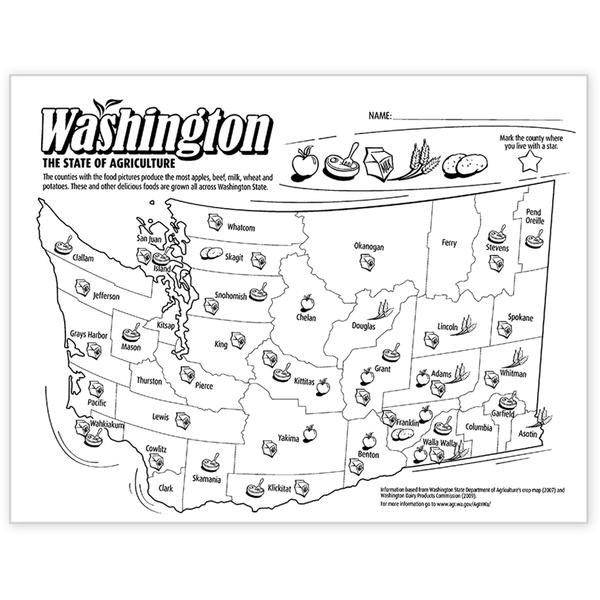 Washington State of Agriculture Master-Free Download