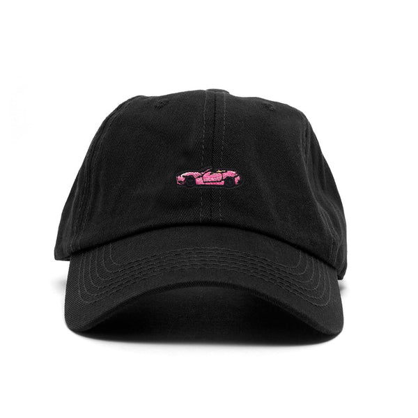 Ferrari Sports Cap - Black /Pink