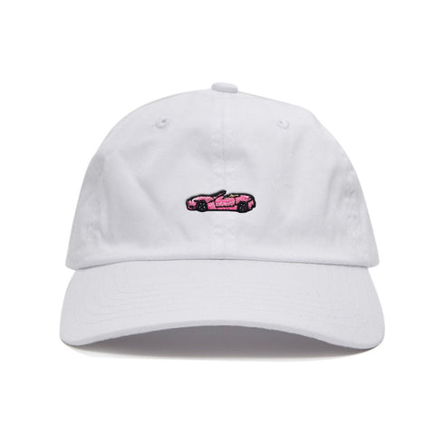 Ferrari Sports Cap - White/Pink